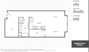 floor plans at meridian at midtown apartments san jose