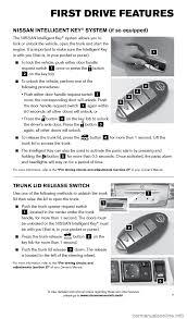 nissan sentra yellow key light nissan sentra 2015 b17 7 g quick reference guide