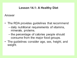 chapter 14 choosing nutritious food ppt video online download