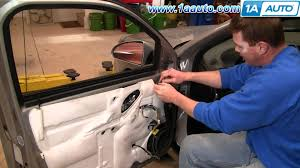 How To Install Replace Side Rear View Mirror Chevy Malibu 04 08