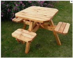 Build Your Own Wood Picnic Table by Custom Made Custom Made Large Thru Bolt Picnic Tables Building