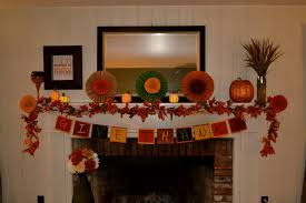 decorations diy give thanks fireplace mantel banner alongside