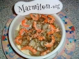 cuisiner des topinambours crevettes aux topinambours recette topinambour recette crevette