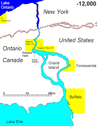Niagara Falls Canada Map by The Earth Has A Future Geosphere Geoscienceworld