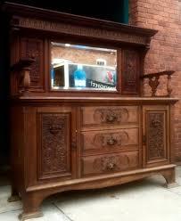 English Oak Sideboard Antique European Fine Furniture U0026 Decor Auction In Stillwater