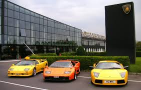 Lamborghini Murcielago Lime Green - factory tour