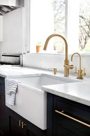 newport brass kitchen faucets two toned kitchen renovation design ideas home bunch interior