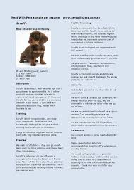 dog walker resume resume templates