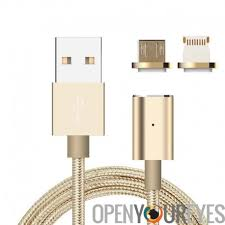 apple to android transfer 2 in 1 magnetic usb cable charging and data transfer cable