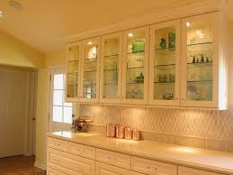Glass Shelves For Kitchen Cabinets Kitchen Lighting Techniques