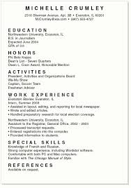 exles of college student resumes resume format college student 100 images college student