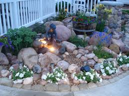 Backyard Rock Garden by Best 25 Rockery Garden Ideas On Pinterest Rockery Stones