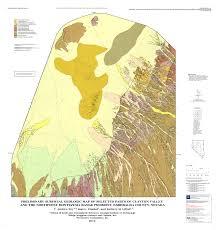 Nevada County Map New Geologic Map U2014 Clayton Valley And Montezuma Range Esmeralda