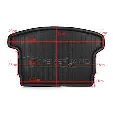 nissan qashqai boot liner rear trunk tray boot liner cargo mat floor protector for nissan