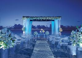 wedding decoration ideas blue wedding decorations ceremony with