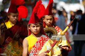new year attire lunar new year celebration in nepal photos and images getty images