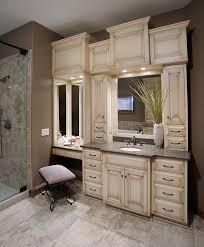 custom bathroom ideas bathroom vanity with makeup counter best 25 custom