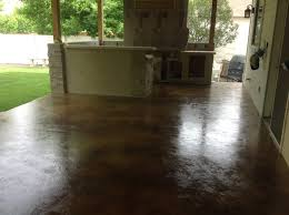 Stain Old Concrete Patio by Coffee Brown Acid Stain Photo Gallery Direct Colors Inc