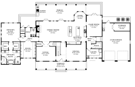 colonial floor plans floor plans aflfpw76378 2 story colonial home with 5 bedrooms 3