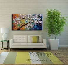 Modern House Living Room Aliexpress Com Buy Handpainted Oil Painting On Canvas Textur