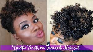 how to taper 4c hair bantu knots tutorial on 4c tapered cut naptural roots magazine