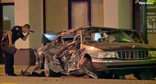 pasadena now man dies in single vehicle car collision which