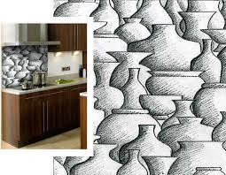 panneau mural pour cuisine panneau décoratif en céramique pour cuisine mural pots nexiform