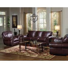 Leather Living Room Chairs Kingston Top Grain Leather Sofa Loveseat And Recliner Living Room