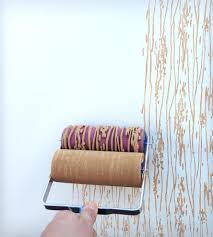 wood grain design patterned paint roller these rollers create a