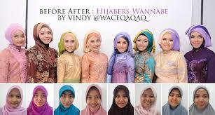 tutorial makeup natural wisuda ini vindy yang ajaib before after makeup natural ala hijabers