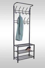 garderobe modern design garderobe schwarz metall schuschrank ablage wandgarderobe modern
