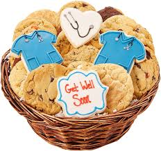get well soon cookies get well soon cookie basket