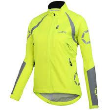 womens cycling jacket wiggle hi viz yellow clothing
