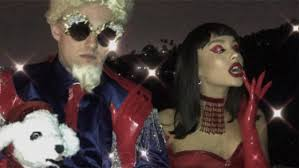 grande costume grande and mac miller destroy the with these