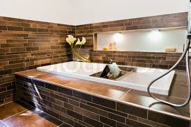 pictures of beautiful homes interior beautiful interior of a bathroom modern house stock photo