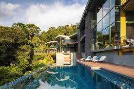 Luxury Home Tropical Modern Luxury Home In The Jungle Idesignarch Interior