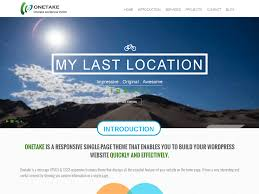 cool app websites 35 best free one page parallax wordpress themes 2016