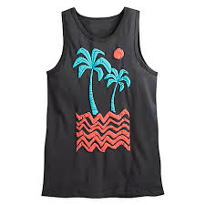 designer tank tops disney collection by neff adds some island inspired moana looks