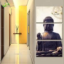 Buddha Home Decor Aliexpress Com Buy Modern Printed Buddha Buddhism Painting