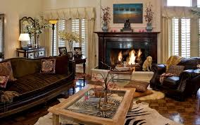 interior fireplace sofas chairs living room room design wallpaper