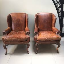 Leather Chairs Napoleonrockefeller Com Collectables Vintage And Painted Furniture