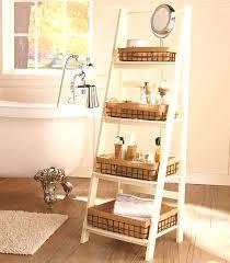 Diy Leaning Ladder Bathroom Shelf by Bookcase Wooden Ladder Shelves For Sale Wood Ladder Shelf Diy