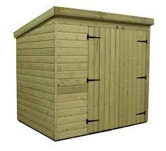 wooden 7x5 u0027 size garden sheds ebay