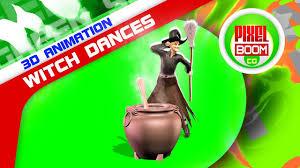 halloween cauldron background green screen witch dances cauldron halloween pixelboomcg youtube