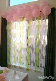 Baby Shower Decor Ideas by Streamer Decoration Ideas For Baby Shower Home Decorating