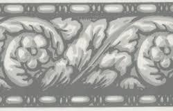 architectural wallpaper border silver 204 u003cbr u003e clearance