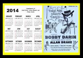 Dodd Darin by Bobby Darin Calendars