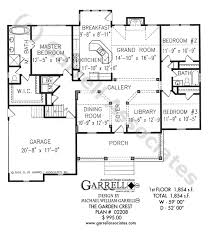 House Plans Traditional Garden Crest House Plan House Plans By Garrell Associates Inc