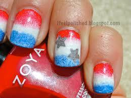 i feel polished 4th of july nails