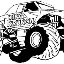 coloring pages monster jam kids drawing and coloring pages